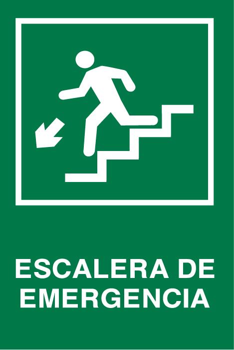 Se aletica seguridad escalera emergencia abajo izq for Escaleras de emergencia