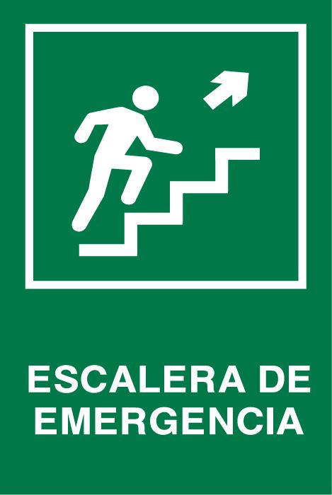 Se aletica seguridad escalera emergencia arriba der for Escaleras de emergencia