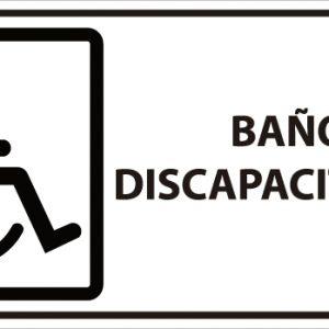 señaletica baño discapacitados