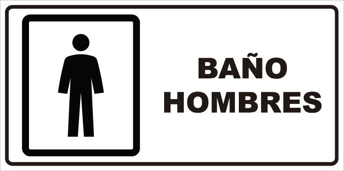 Imagenes De Baño Mujeres:señaletica baño hombres 1 171 59 976 señaletica baño hombres