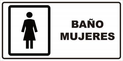 señaletica baño mujeres 1