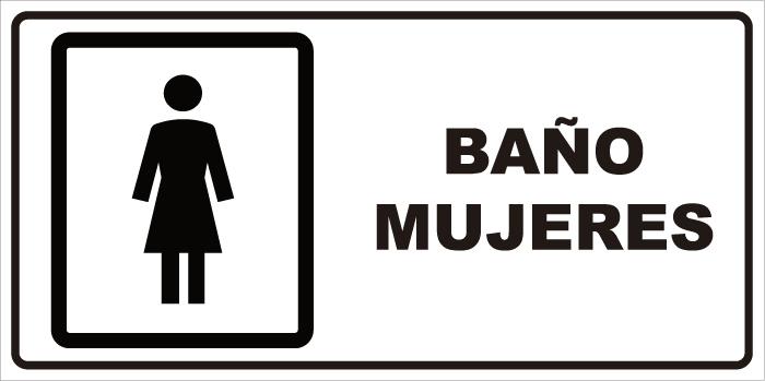 Señaletica Baños | Senaletica Bano Mujeres Signshop
