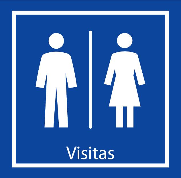 Baño Visitas Medidas:señaletica baño visitas 772 44 725 señaletica baño visitas