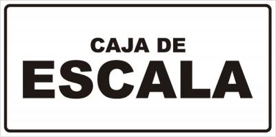 señaletica caja de escala 1
