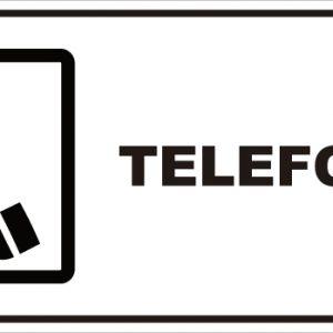 señaletica telefono