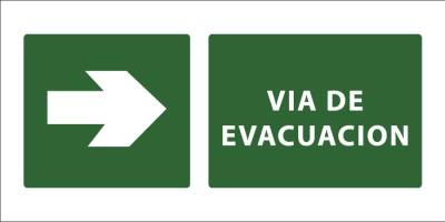 led senaletica via de evacuacion derecha 1