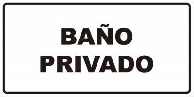 señaletica baño privado 1