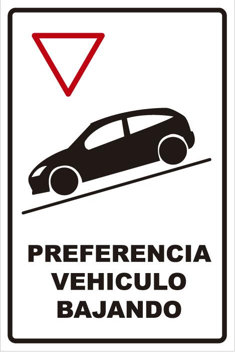 señaletica transito preferencia vehiculo bajando 1